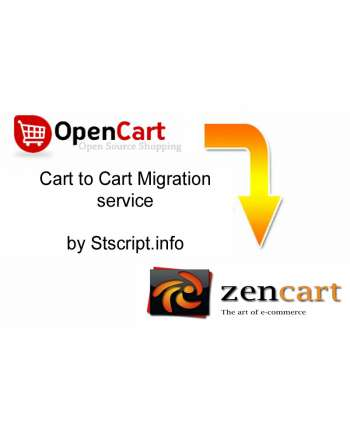 Opencart to Zen Cart migration service