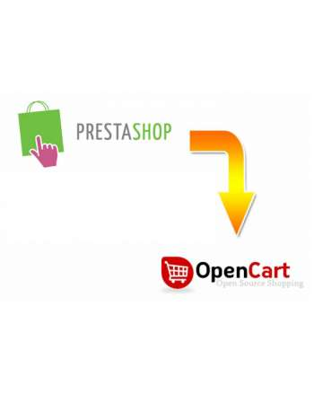 Prestashop to Opencart Migration Service
