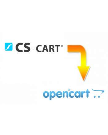 CS-Cart to Opencart migration service