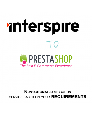 Interspire to Prestashop migration service