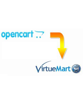 Opencart to VirtueMart Migration Service