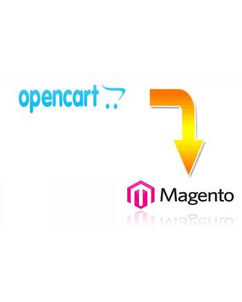 Opencart to Magento migration service