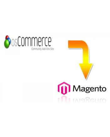 Oscommerce to Magento migration service