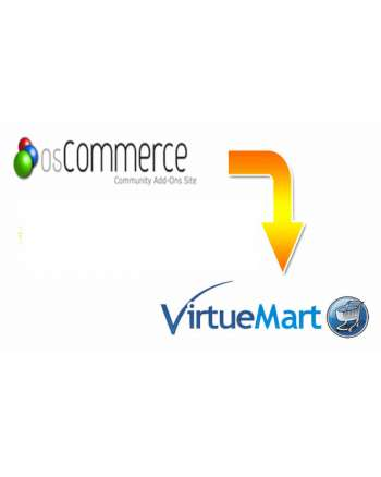 Oscommerce to VirtueMart Migration Service