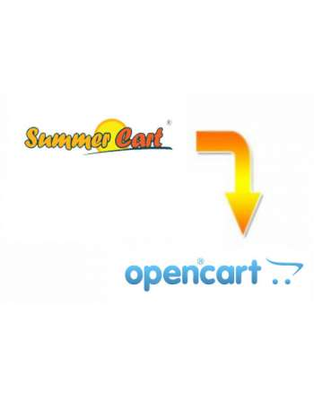 Summer Cart to Opencart migration service