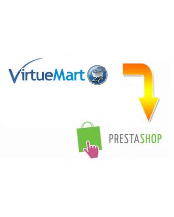 VirtueMart to Prestashop Migration Service