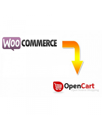 WooCommerce to Opencart migration service
