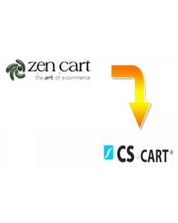 Zen Cart to CS-cart migration service