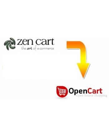 Zen Cart to Opencart Migration Service