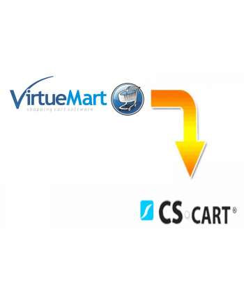 VirtueMart to CS-cart migration service