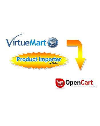 VirtueMart to OpenCart complete