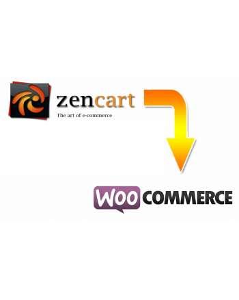 Zen Cart to WooCommerce migration service