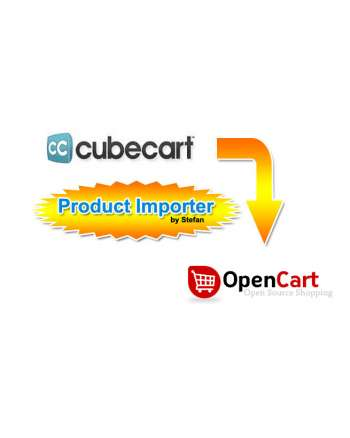 Cube Cart to Opencart 2.x migration tool