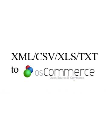 XML/CSV/XLS/TXT to Oscommerce data entry service