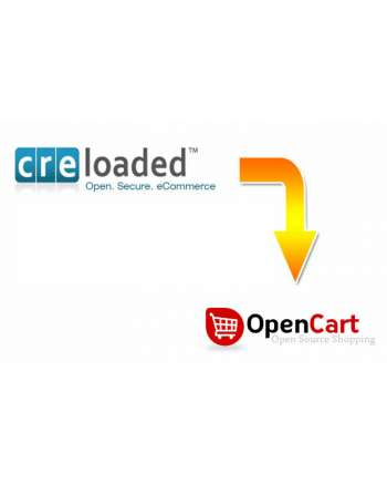 Миграция на Cre Loaded към Opencart