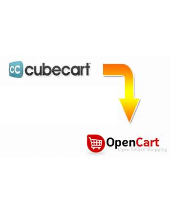 CubeCart to Opencart migration service
