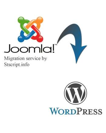 Joomla to WordPress migration service