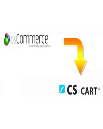 Oscommerce to CS-cart migration service