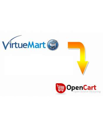 VirtueMart to OpenCart Migration Service