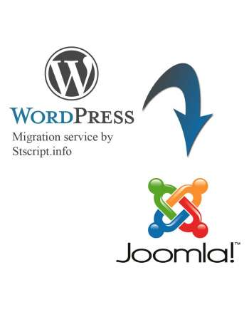 WordPress to Joomla migration service