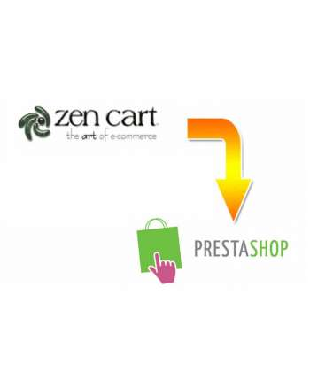 Zen Cart to Prestashop Migration Service